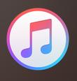 iTunesをクリック