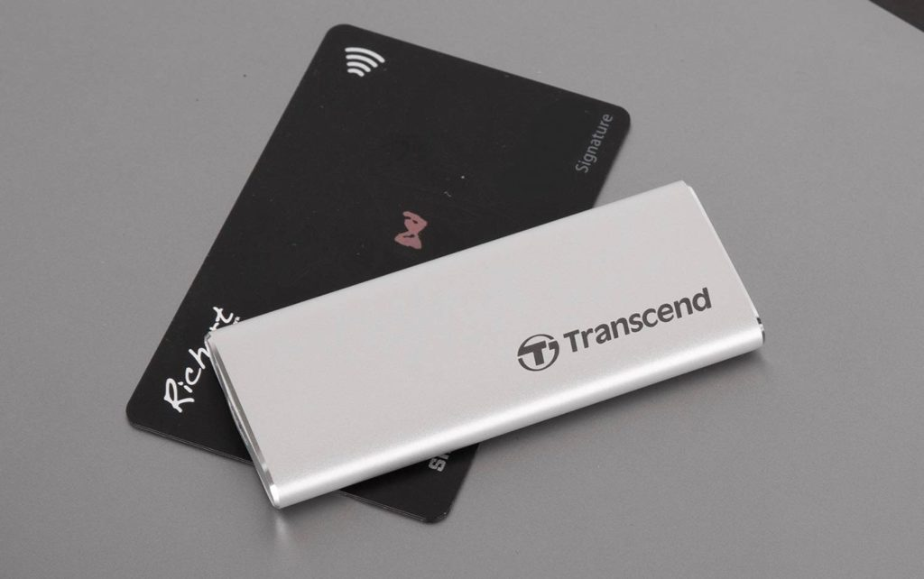 おすすめの外付けSSD①:Transcend