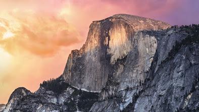 Yosemiteのデスクトップ画