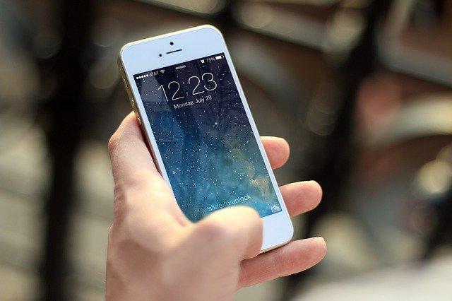 iPhoneがWi-Fiにつながっている