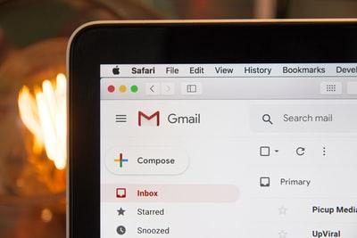 Mac で Gmailを作る方法
